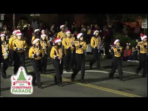 Curran Middle School Marching Band - 2014 Bakersfield Christmas Parade
