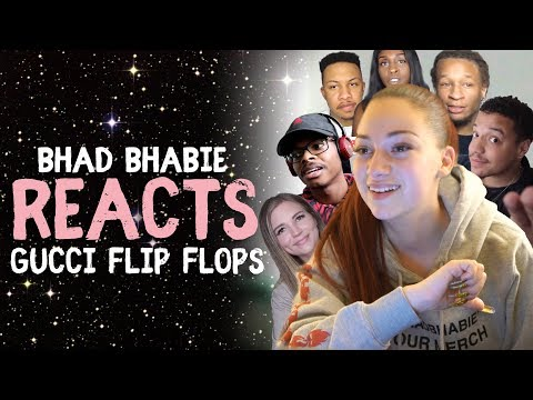 """Danielle Bregoli Reacts To BHAD BHABIE """"Gucci Flip Flops"""" Roast and Reaction Vids"""