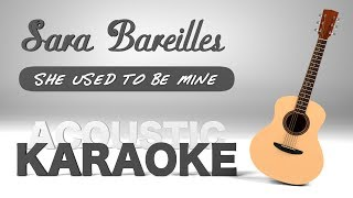 Baixar Sara Bareilles - She Used To Be Mine (Karaoke)