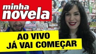 Minha Novela | Live com Maria Clara Spinelli.