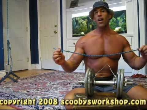 Home Workouts: DIY cable apparatus