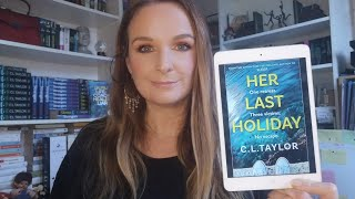 C.L. Taylor reads from the first chapter of Her Last Holiday.