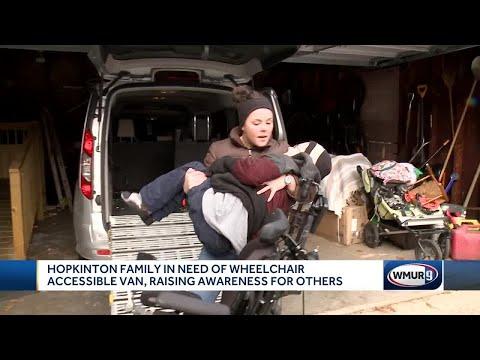 Hopkinton family needs new wheelchair-accessible van