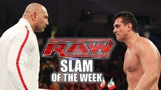Batista is Unleashed: WWE Raw Slam of the Week 1/20