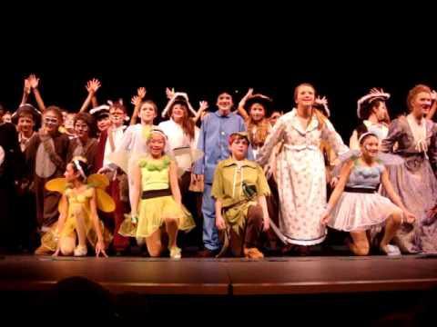 Peter Pan (Redmond Middle School_2013 School Musical) Michelle Li played Tinkerbell