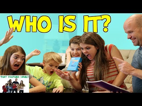 WHO IS IT? GAME / That YouTub3 Family