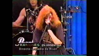 Ramones - Beat on the Brat (Live Argentina 1996)
