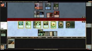 Magic 2014 Draft #10 Match 3 Mono Green Spore tify vs RUB Slivers