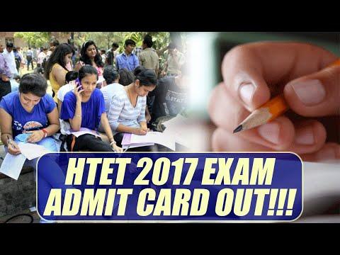HTET admit card 2017 available on official website, know details   Oneindia News
