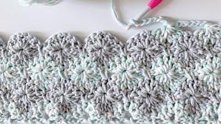 Crochet Harlequin Stitch Blanket