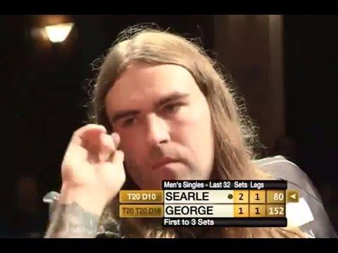 Ryan Searle vs Richie George 2013  Winmau World Masters Missed Double 10