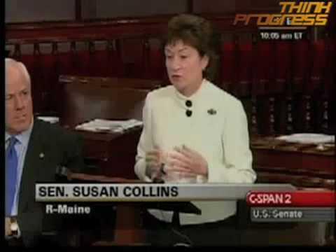 Sen. Susan Collins On Bunning