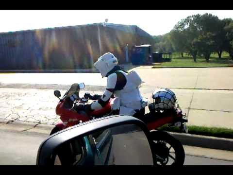 Scout Trooper On Motorcycle Youtube
