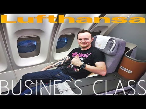 Lufthansa BUSINESS CLASS Frankfurt to Bangkok|Boeing 747