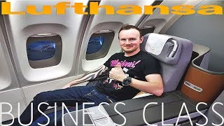 Lufthansa BUSINESS CLASS Frankfurt to Bangkok Boeing 747
