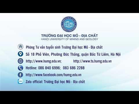 Livestream Số 02  CÁC NGÀNH ĐÀO TẠO CỦA KHOA KHOA HỌC & KỸ THUẬT ĐỊA CHẤT