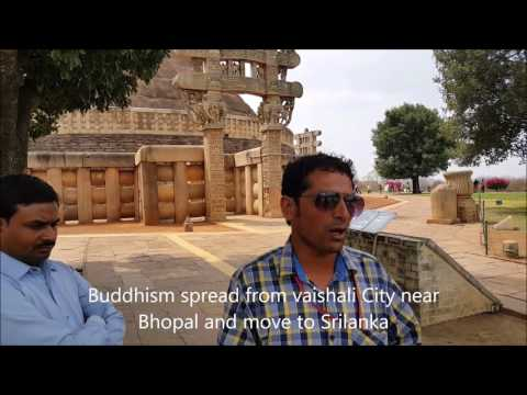 Sanchi Stupa - Buddhist Symbol -Budha Life story in Hindi