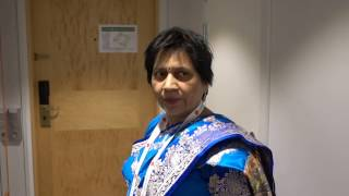 Aruna & Hari Sharma Arrived At Radisson Blu Scandinavia 4* Hotel Göteborg, Apr 09, 2017