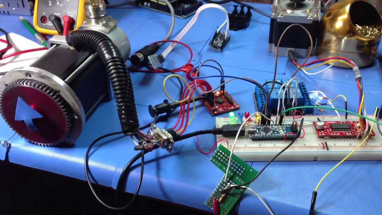 A simple stepper motor project