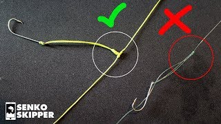 NO MORE TANGLED RIGS WITH THIS KNOT! T-Knot Tutorial