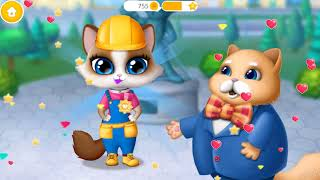 Kitty Meow Meow City Heroes   Little Cute Animals To The Rescue   TutoTOONS Fun Games For Children
