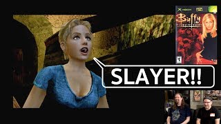 Let's Play Buffy the Vampire Slayer - XBOX w/ Drunken Master Paul