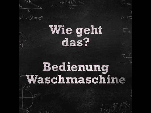 Erklärvideo - Wie geht das? | Waschmaschine im SB Waschsalon SnowBall Leipzig einfach erklärt