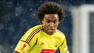Willian Borges Da Silva  - Anzhi - 2013 skills , goals , passing
