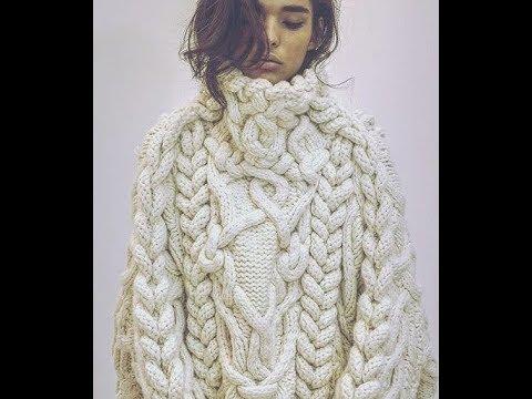Свитера, Связанные Спицами, для Женщин - 2019 / Knitting Knit Sweaters For Women