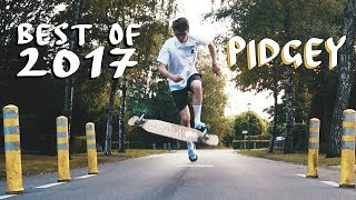 PIDGEY / Best Of 2017 // Longboard Dance x FUN x Freestyle