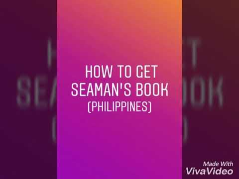 How to get Seaman's Book in Philippines