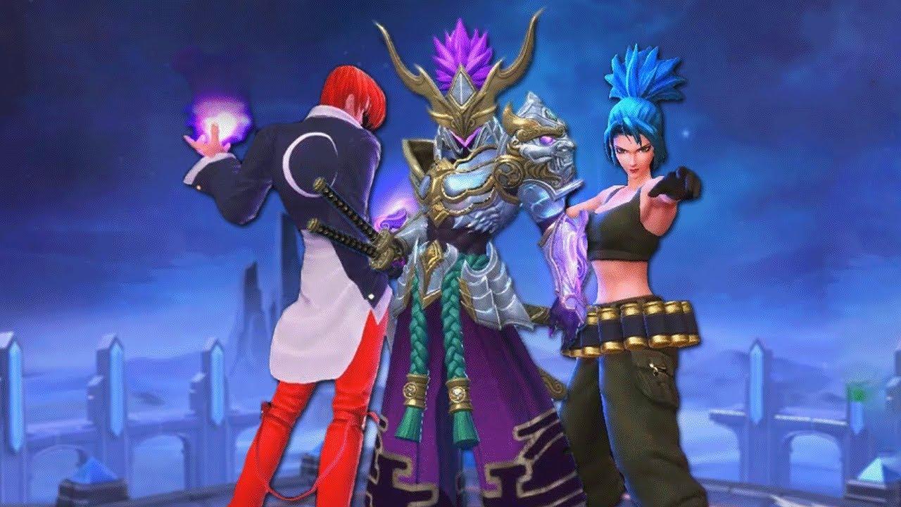 NEW *KOF* SKINS & EPIC SKINS GAMEPLAY!   Mobile Legends