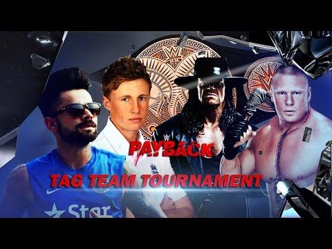 Joe Root & Virat Kohli VS Brock Lesnar & The Undertaker