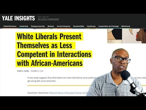 Yale Study Says White Liberals Talk Down To Blacks During Conversation. Are You Surprised?