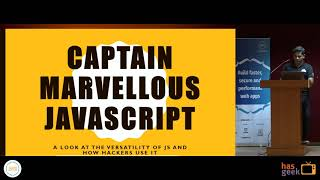 Captain Marvellous JavaScript: a look at how hackers use JS