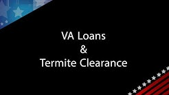 VA Q&A with Andrew Paul: VA Loans & Termite Clearance