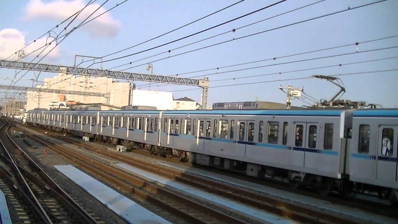 原木 中山 東京メトロ15000系 中野行 原木中山 - youtube