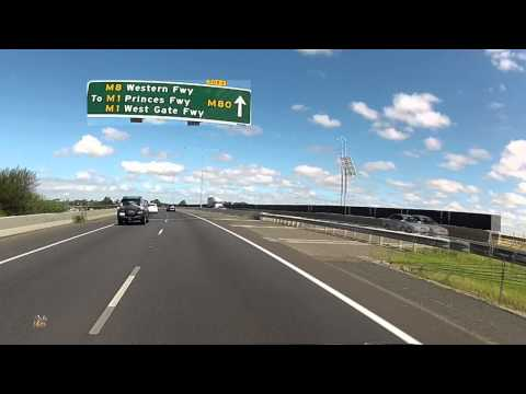 Western (Metropolitan) Ring Road M80 Melbourne - Mix Kamsov