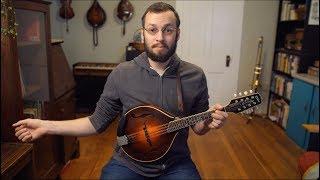 Beginner Mandolin Lessons Series (Part One): Technique