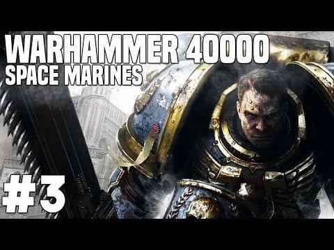 "Warhammer 40k Space Marine #3 ""Trenul"""