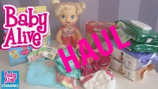 BABY ALIVE HAUL from TARGET