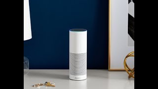 Amazon Echo (2nd Generation) - Smart speaker with Alexa - Heather Gray Fabric by Best Entertainment