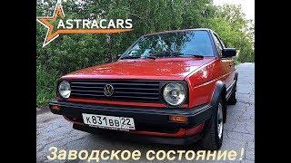 Volkswagen Golf II 1989 года после 20-ти летнего заточения в гараже!