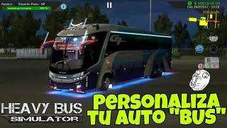 CREÁ Y PERSONALIZA tu propio Skin Para Heavy Bus Simulator [bien explicado y Facil de crear] screenshot 3