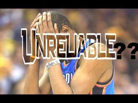 "Kevin Durant is ""MR.Unreliable"" ?? WTF 5/1/14"