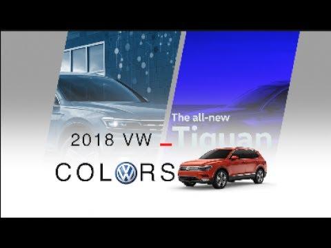 The all-new 2018 Volkswagen Tiguan ( Color Options Exterior & Interior)