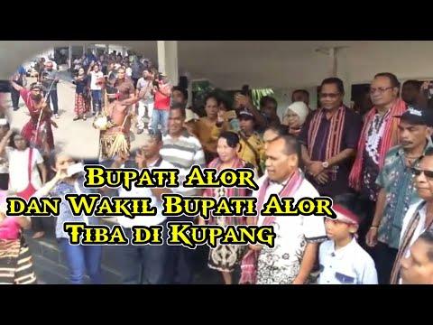 Bupati Dan Wakil Bupati Alor NTT Tiba Di El-Tari Kupang