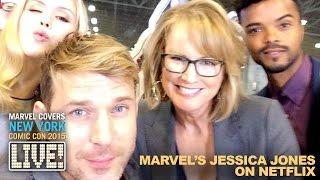 Marvel's Jessica Jones cast & crew come to Marvel LIVE!