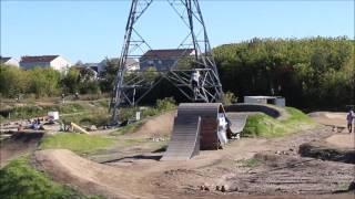 MN dirt jump bike park, cottage grove
