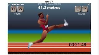 QWOP speedrun 48.340sec